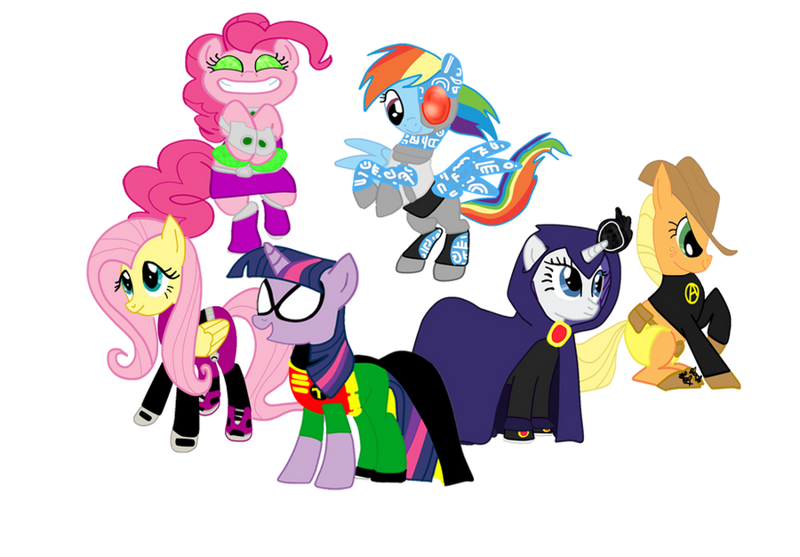 My Little Pony Titans by PinkieDash