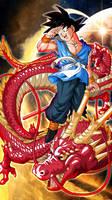 Goku with Shenlong C