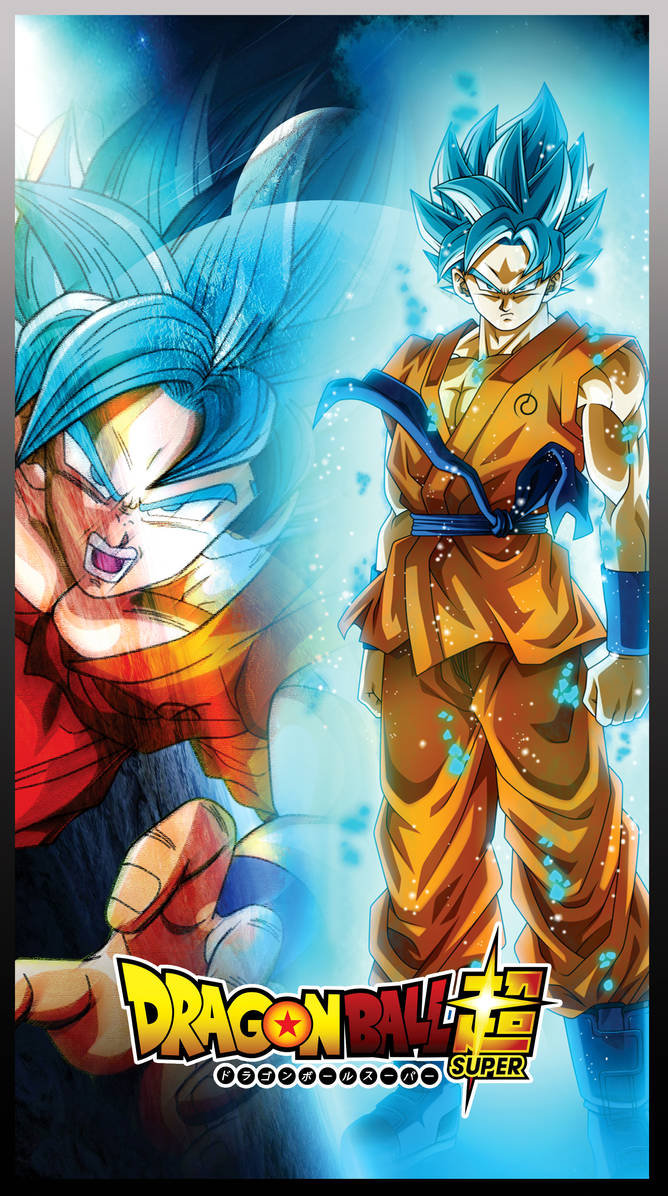 Goku cool blue by jemmypranata
