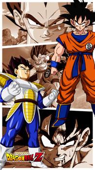 Goku Bezita Saiyan Saga