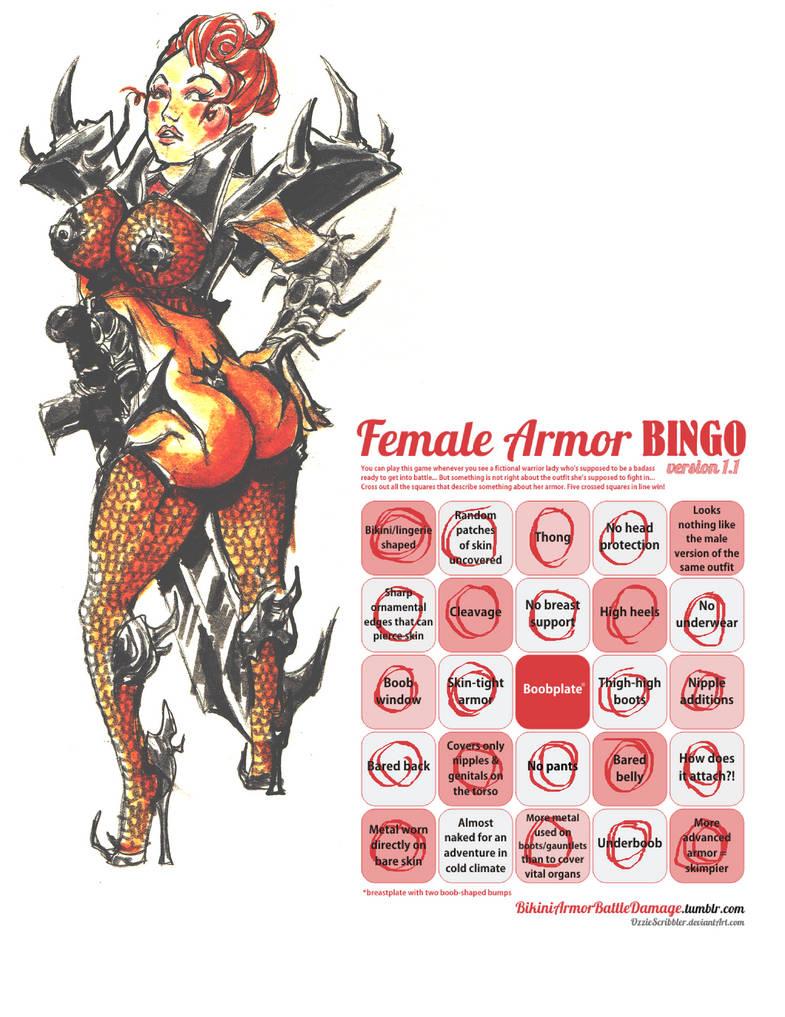 Armor Bingo by noelle-chan