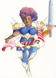 RPG Heroine by noelle-chan