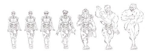 ESO character werewolf transformation