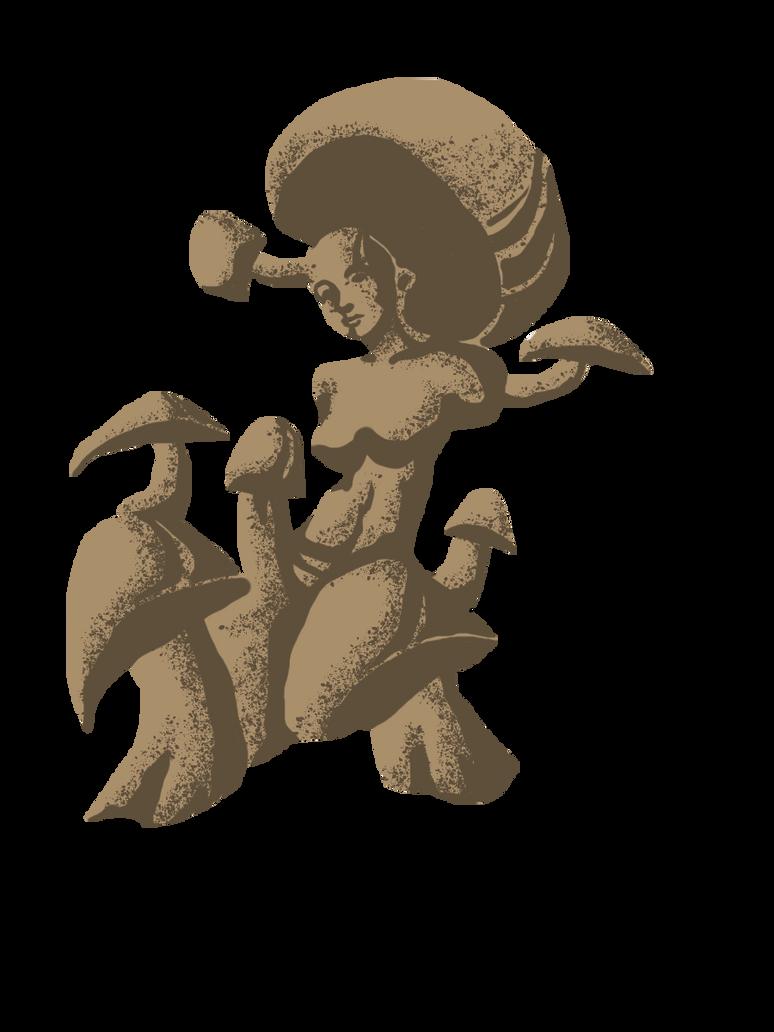 Mother Mushroom by noelle-chan
