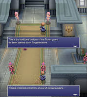FFIV The After Years - Women in armor