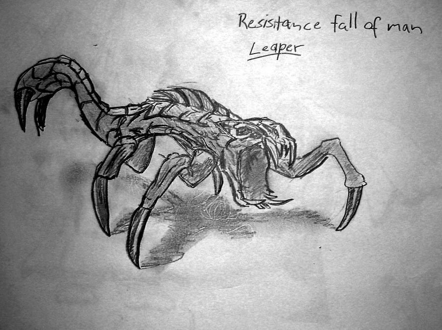 Leaper. Resistance Fall of Man by Roadstar91