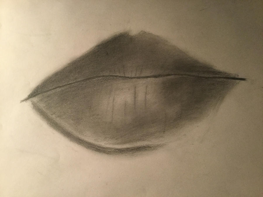 Lips - Attempt 1 - Finished by vicky271