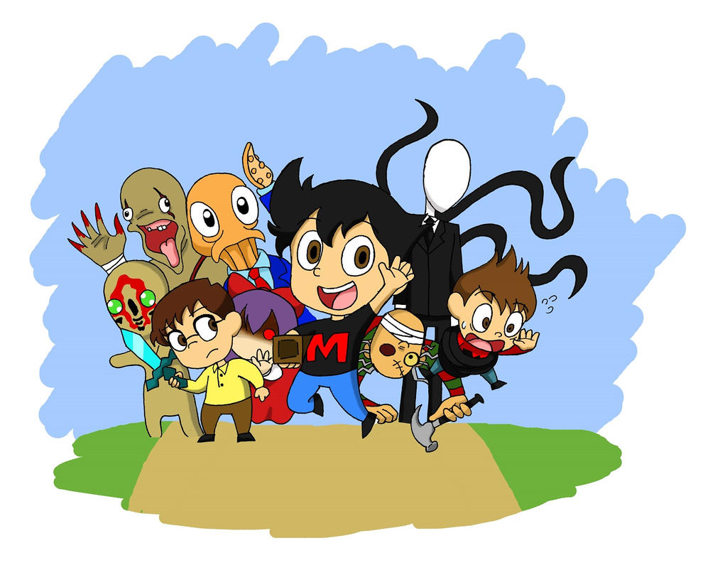 Markiplier and Friends by SilverSapphire495