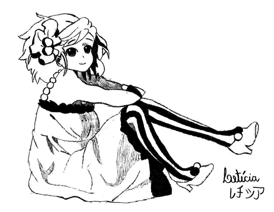 Line Art Hirasawa Yui : Hirasawa yui by mellorineswan on deviantart
