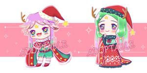 [Adopt Auction] Theme : Christmas deer star-OPEN