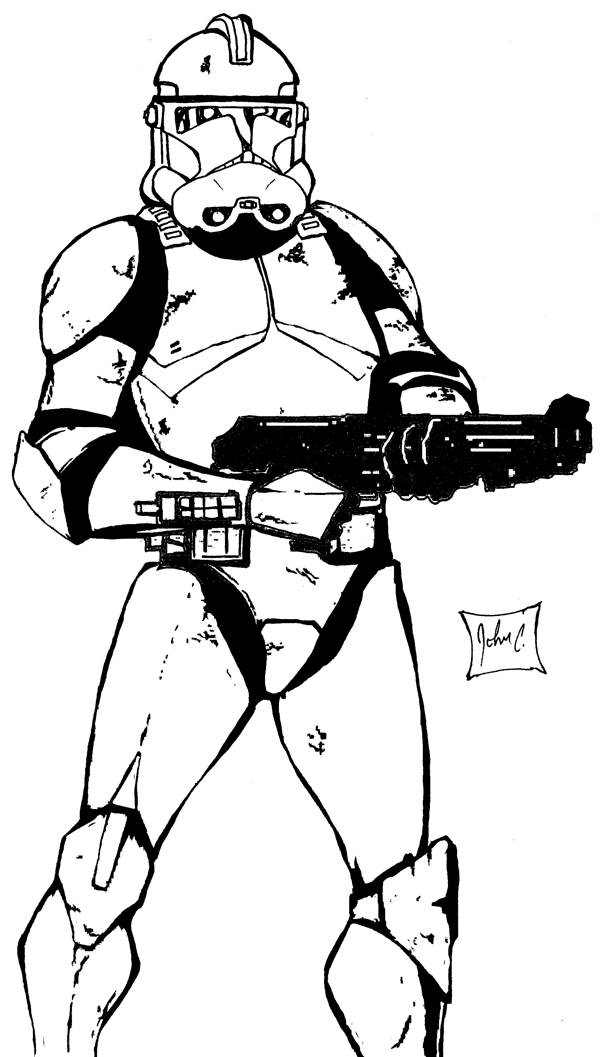 Image Result For T Rex Coloring Page Star Wars Captain