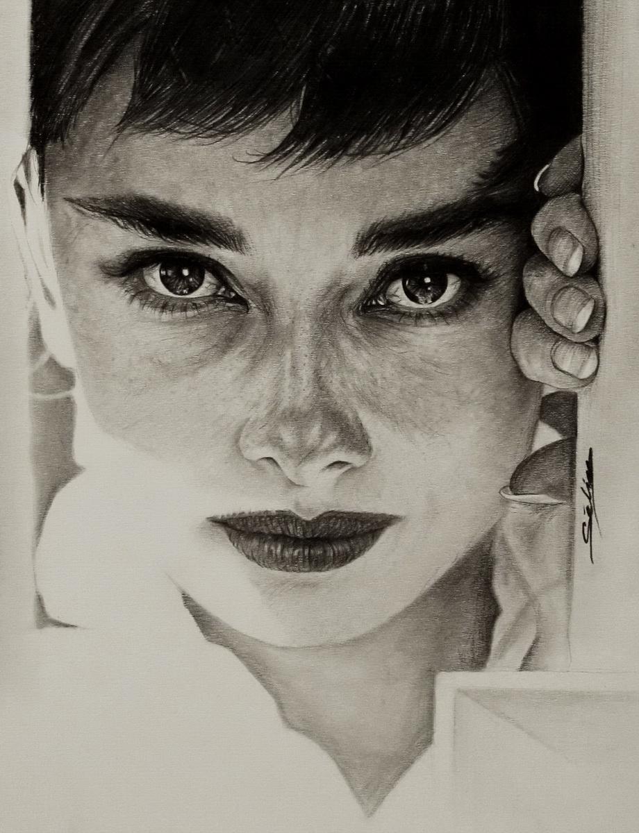 Audrey Hepburn by Selim-mileS 15 by Selim-mileS