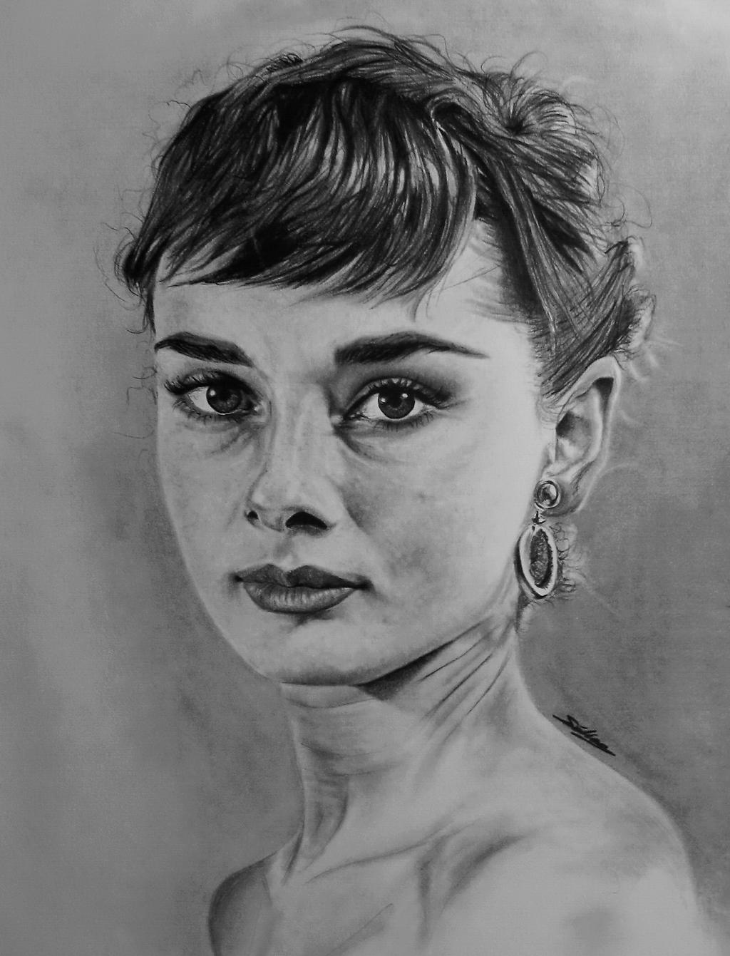 Audrey Hepburn by Selim-mileS 19 by Selim-mileS