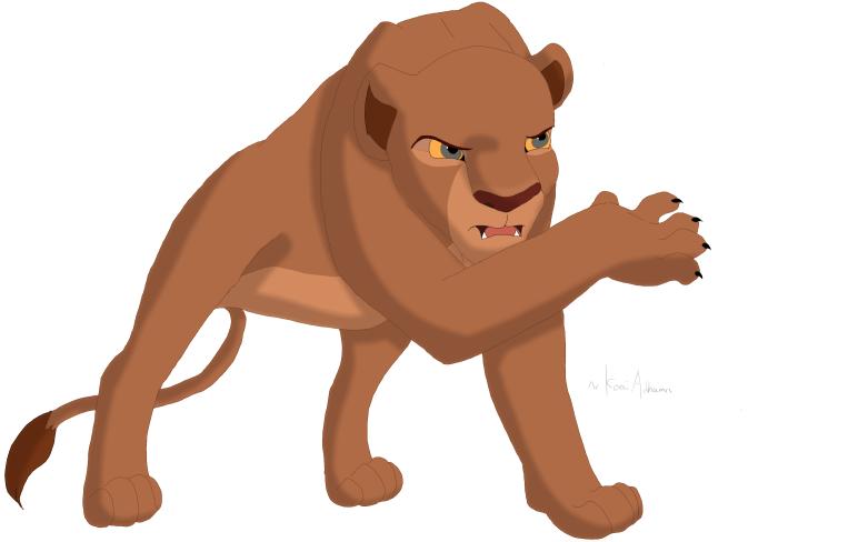 La Historia de Kovu  (Fan-Fiction) - Página 4 Angry_Nala_by_Koai