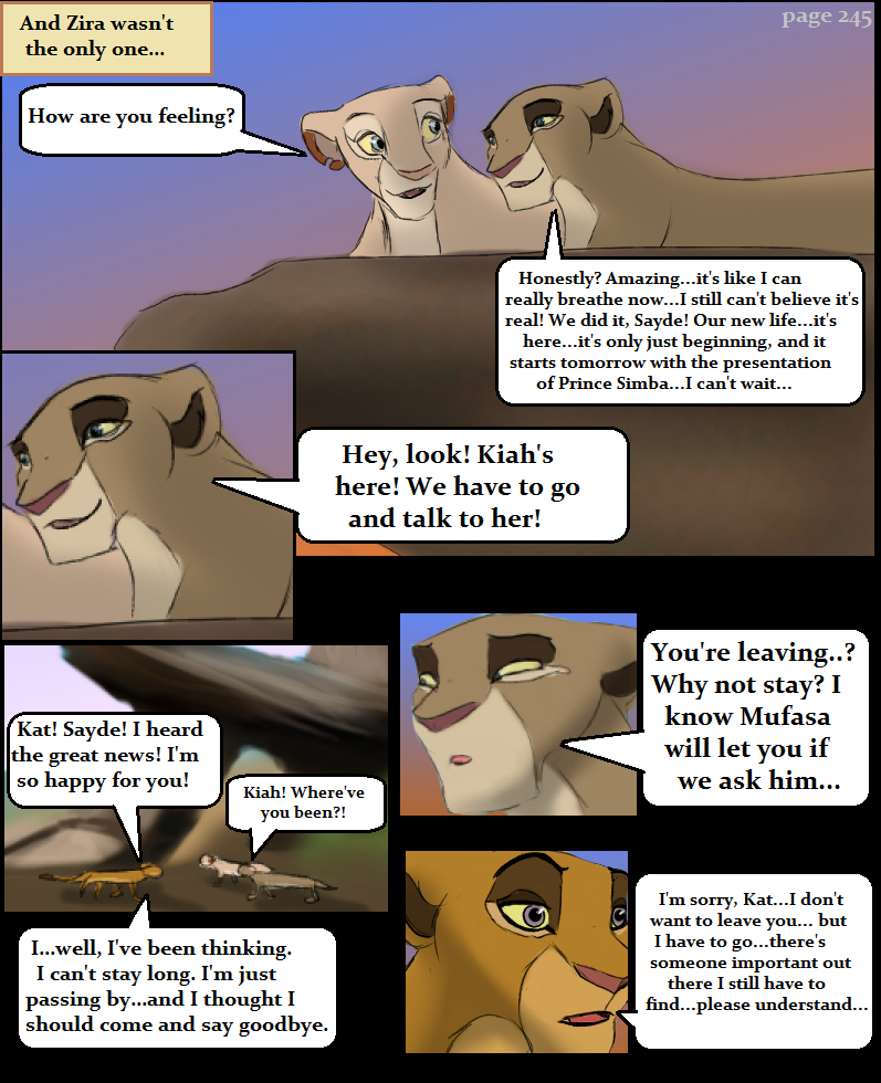 Escape to Pride Rock Page245 by KoLioness