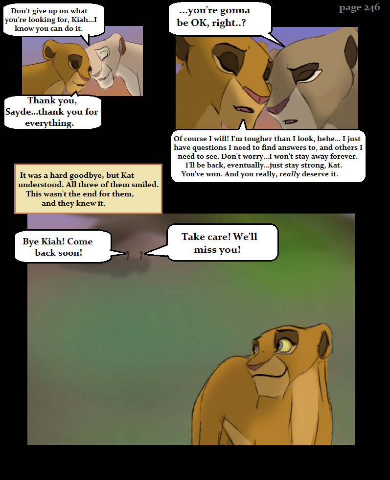 Escape to Pride Rock Page246 by KoLioness