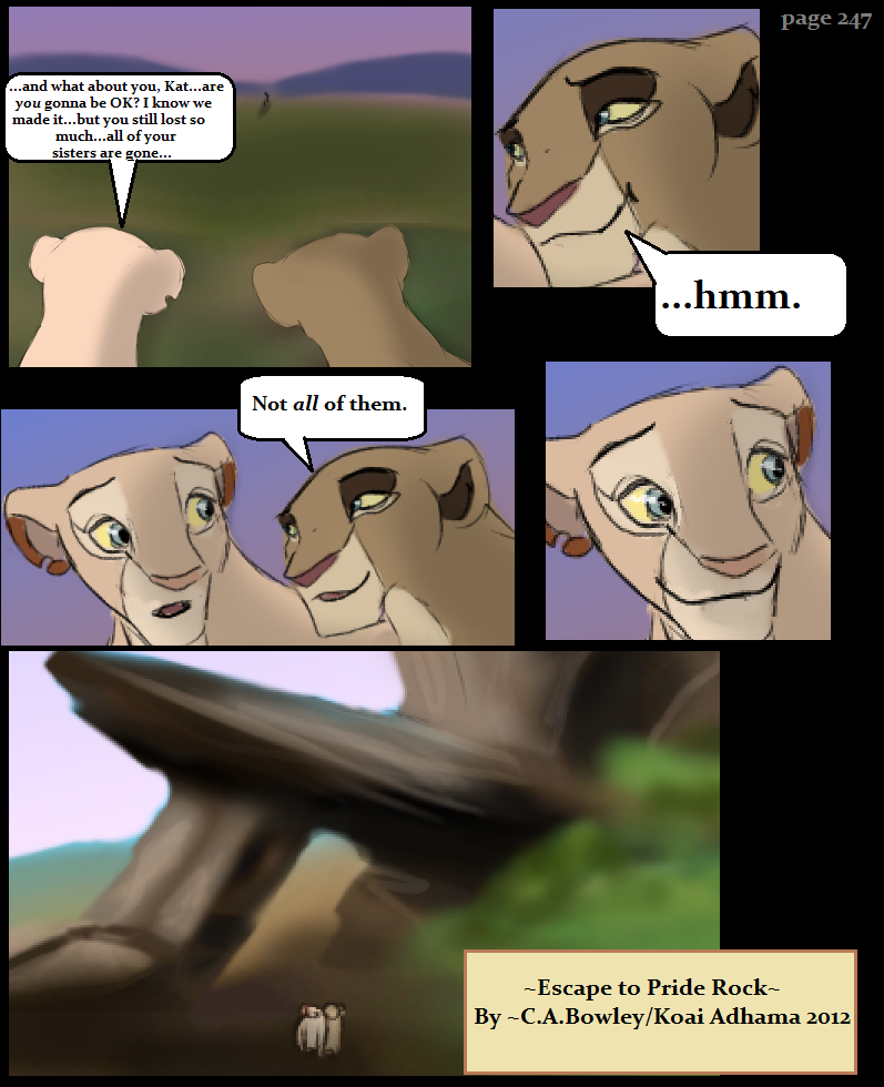 Escape to Pride Rock Page247 by KoLioness