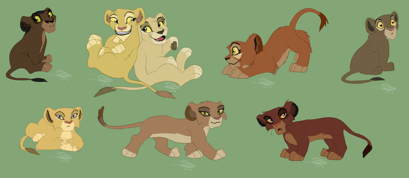 EtPR Cubs 2 by KoLioness