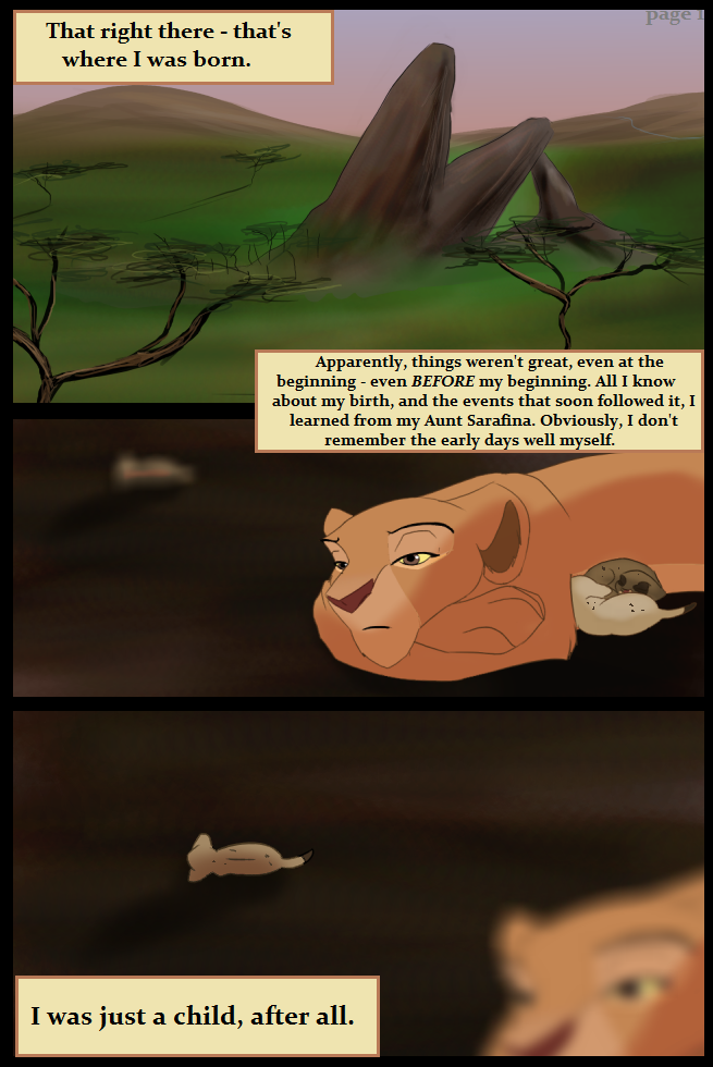 My Pride Sister Page 1 by Kobbzz
