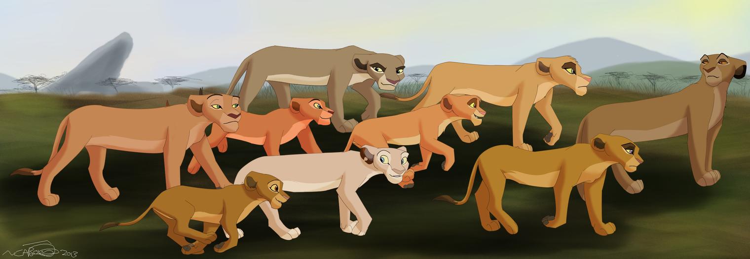 Hunting Trip by KoLioness
