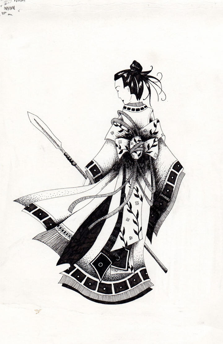Female Samurai I By Schmalison