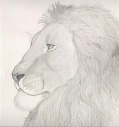 Panthera Leo by IronyWolf