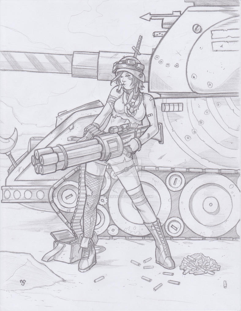 Tank Girl by Alexander463
