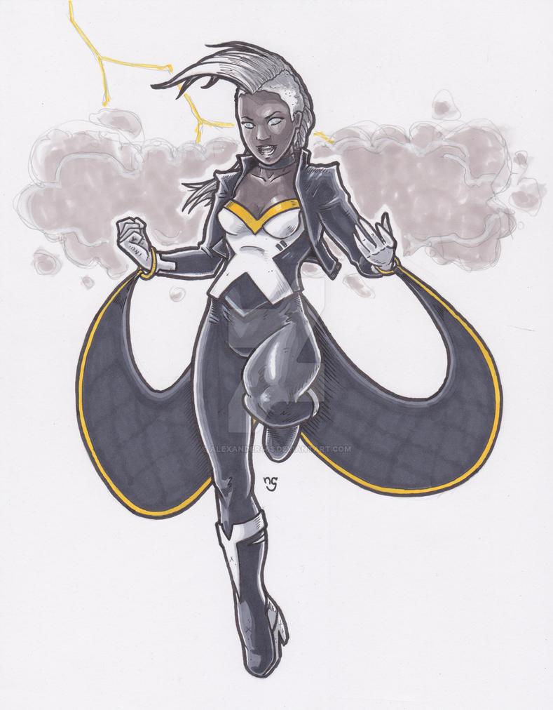 Storm - X-Men by Alexander463