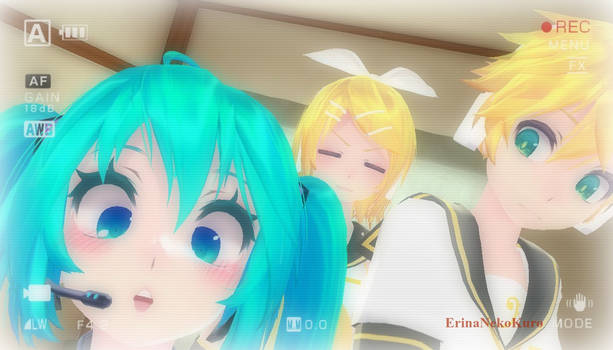 MMD Let's take a picture together ok?