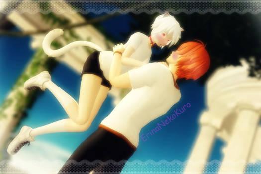 MMD   You Are My Angel   Haruto x Nico