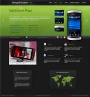 Sony Ericsson fan site by swift20