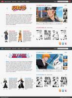 Anime Fan webdesign by swift20