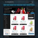 E-CIGARETE e-shop template