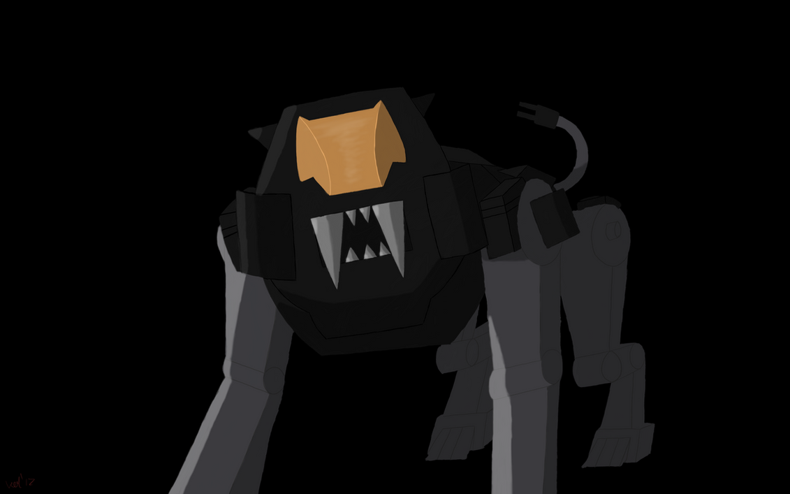 Shield Liger Black by VixenVal