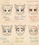 My catpeople face comparision