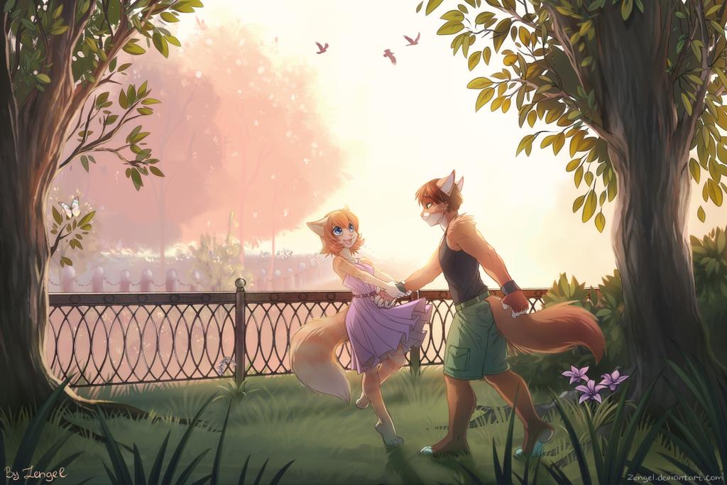 Sunset love by Zengel