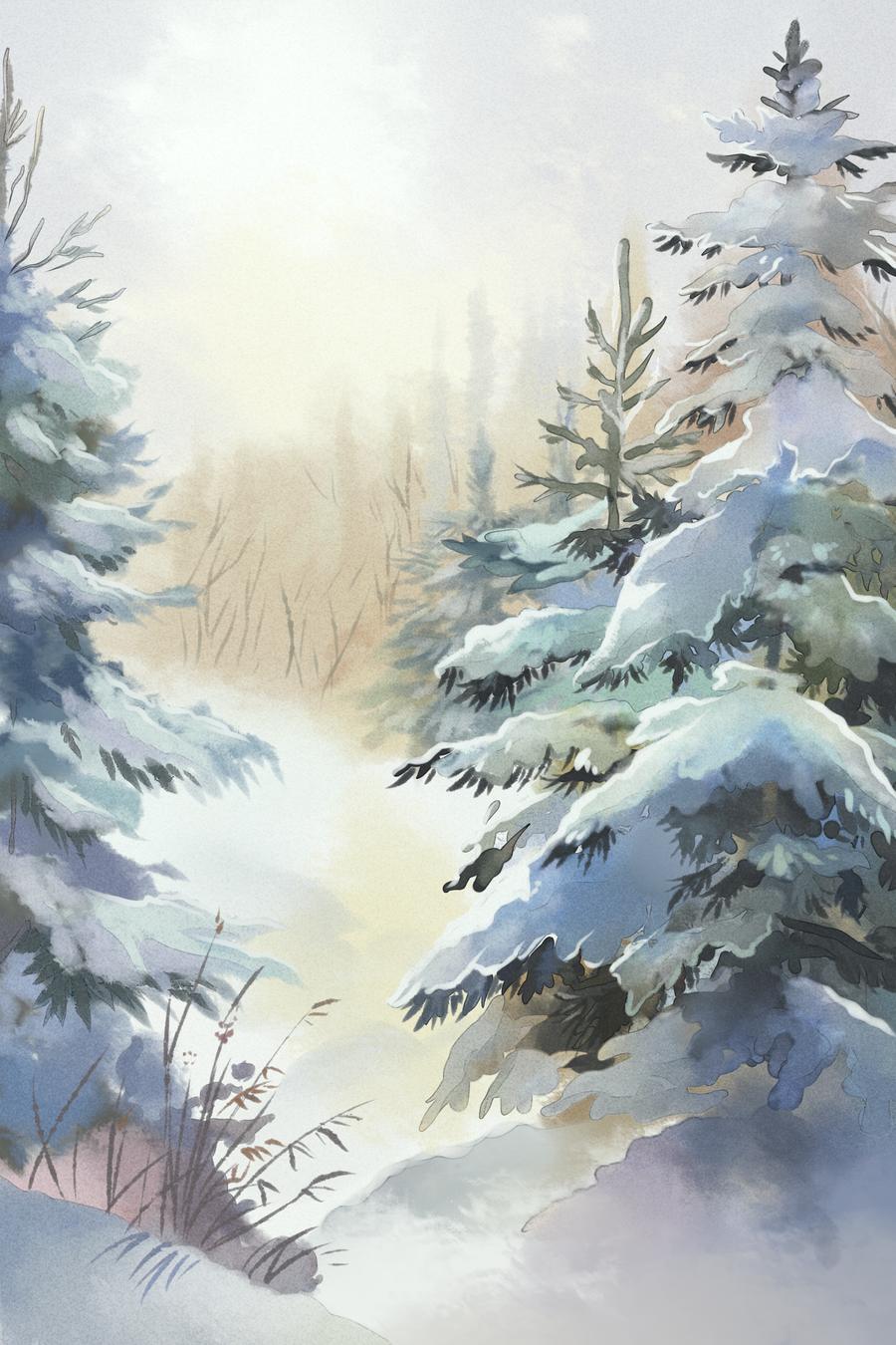 Winter by Zengel