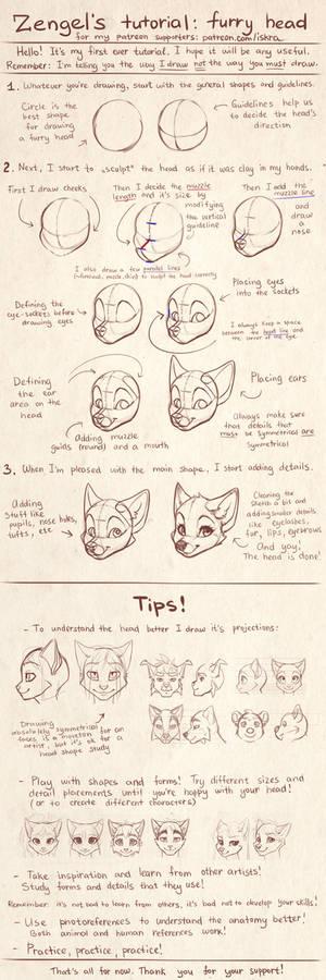Zengel's tutorial - furry heads.