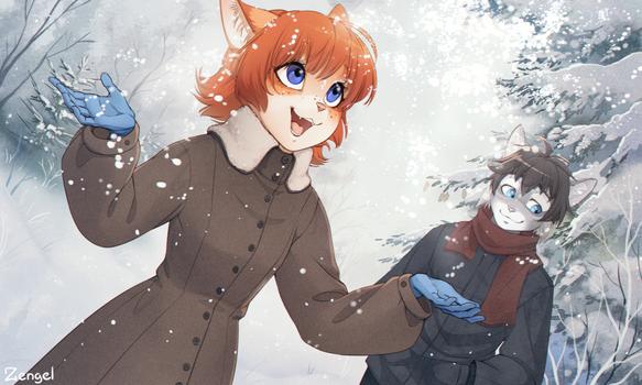 Snowflakes (+text)