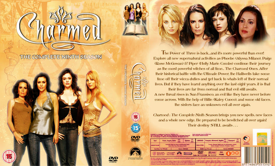 Charmed Season 9 DVD by Toblerone22