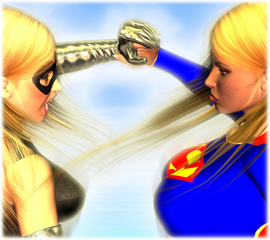 Supergirl VS Ms Marvel PT1 by TonyDumont on DeviantArt