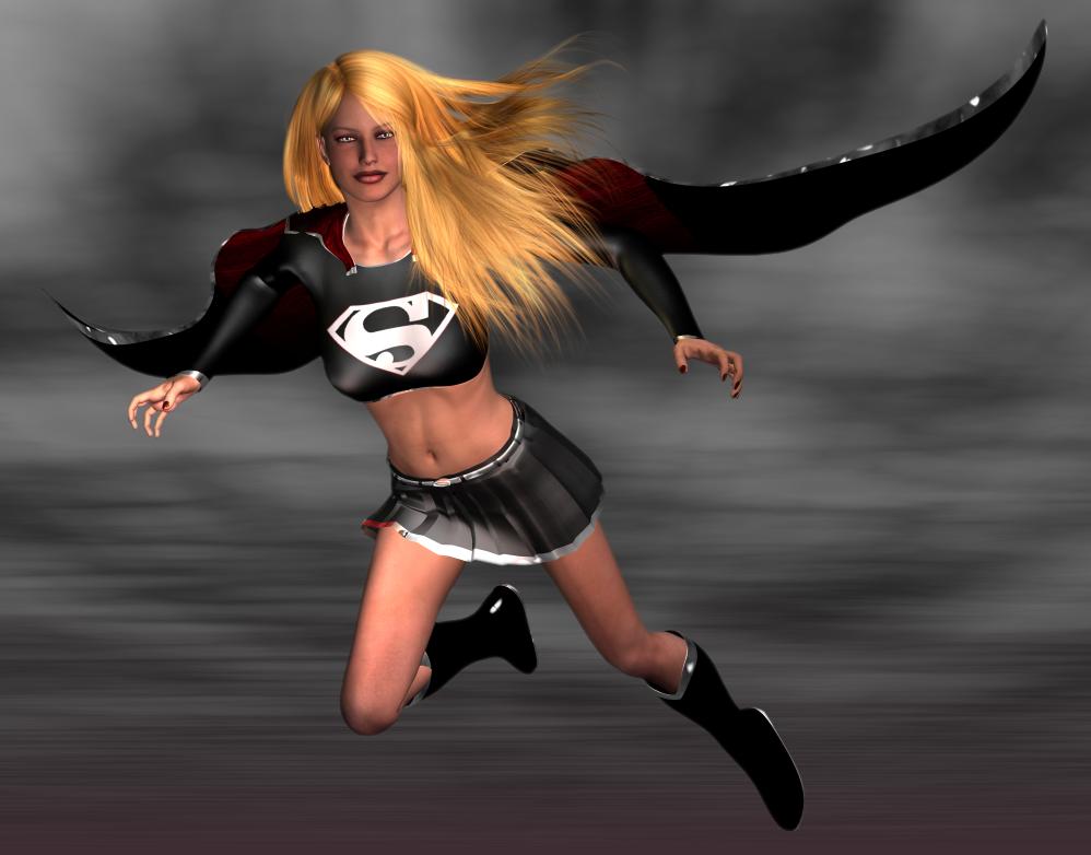 dark supergirl wallpaper - photo #15