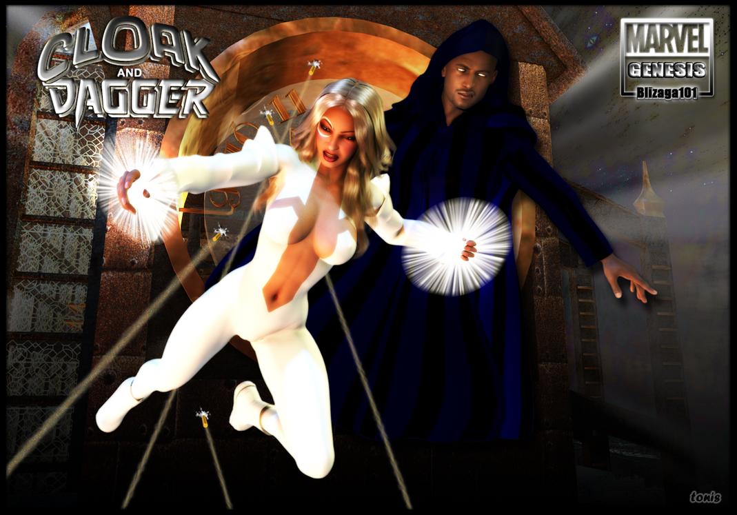 Cloak  Dagger Marvel Genesis By TonyDumont On DeviantArt