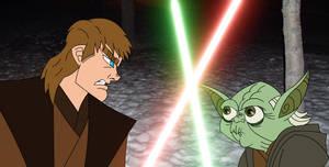 Anakin Skywalker -vs- Yoda