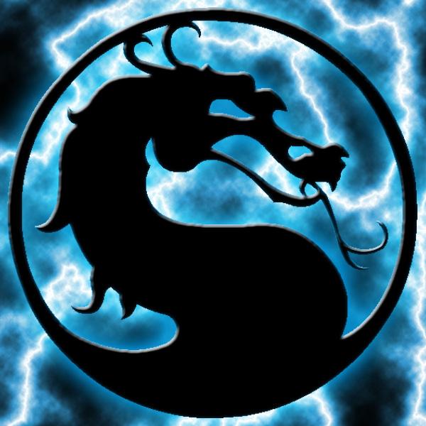 MK Dragon Logo Render