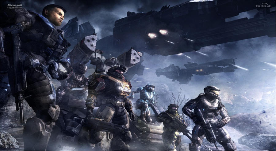 halo reach wallpaper. halo reach Wallpaper gt; 3D