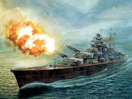 Bismarck by XRaY328