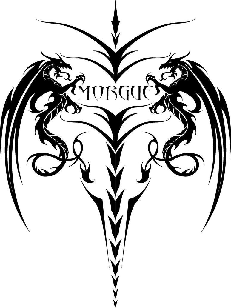 dragon tatoo by DrMorgue