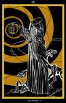 IX - The Hermit / Der Eremit Tarot