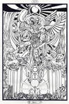 XIV Tarot - Art - Alchemy - Temperance - Original